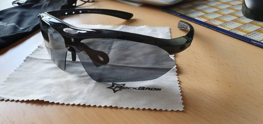 RockBros z Aliexpress okulary FORUM rowerowe SzajBajk